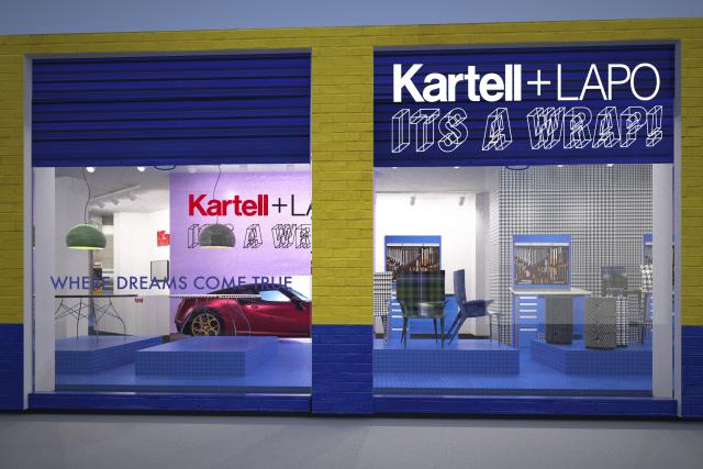 Kartell + Lapo. It\'s a wrap! | Kartell Flagship Store - Milano | Zero
