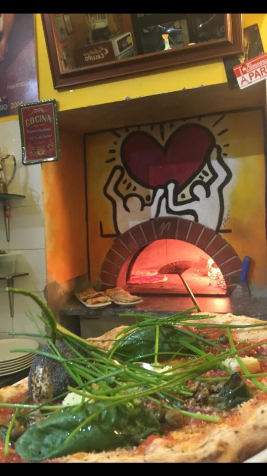 La marinara rivisitata, una delle pizze special di Pasquale