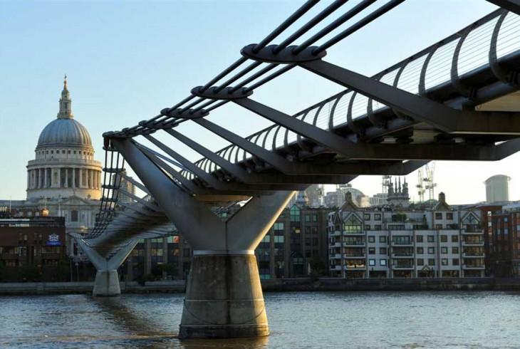 Millennium Bridge, Norman Foster – Londra