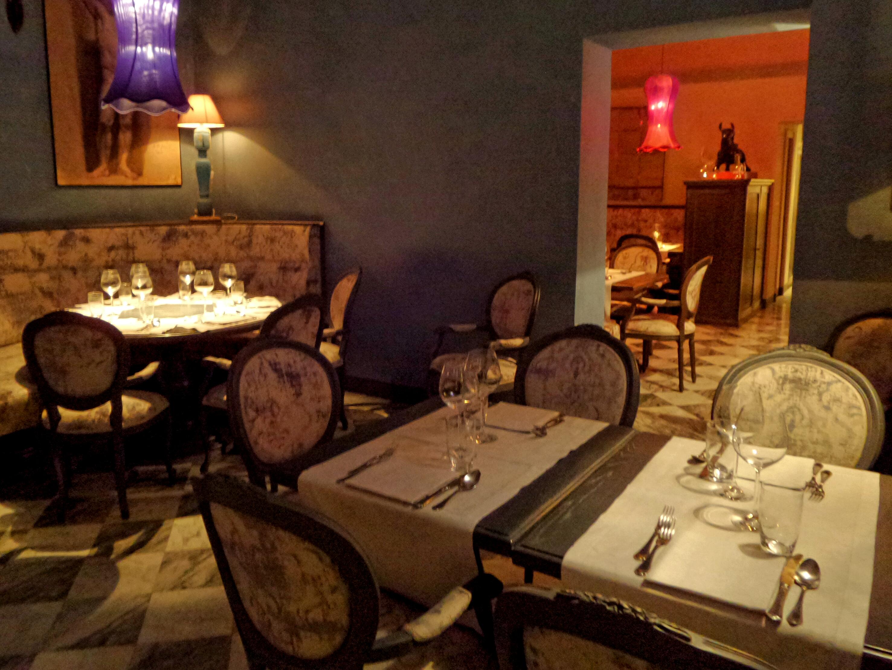 La  meravigliosa sala da cena d'ispirazione rinascimentale