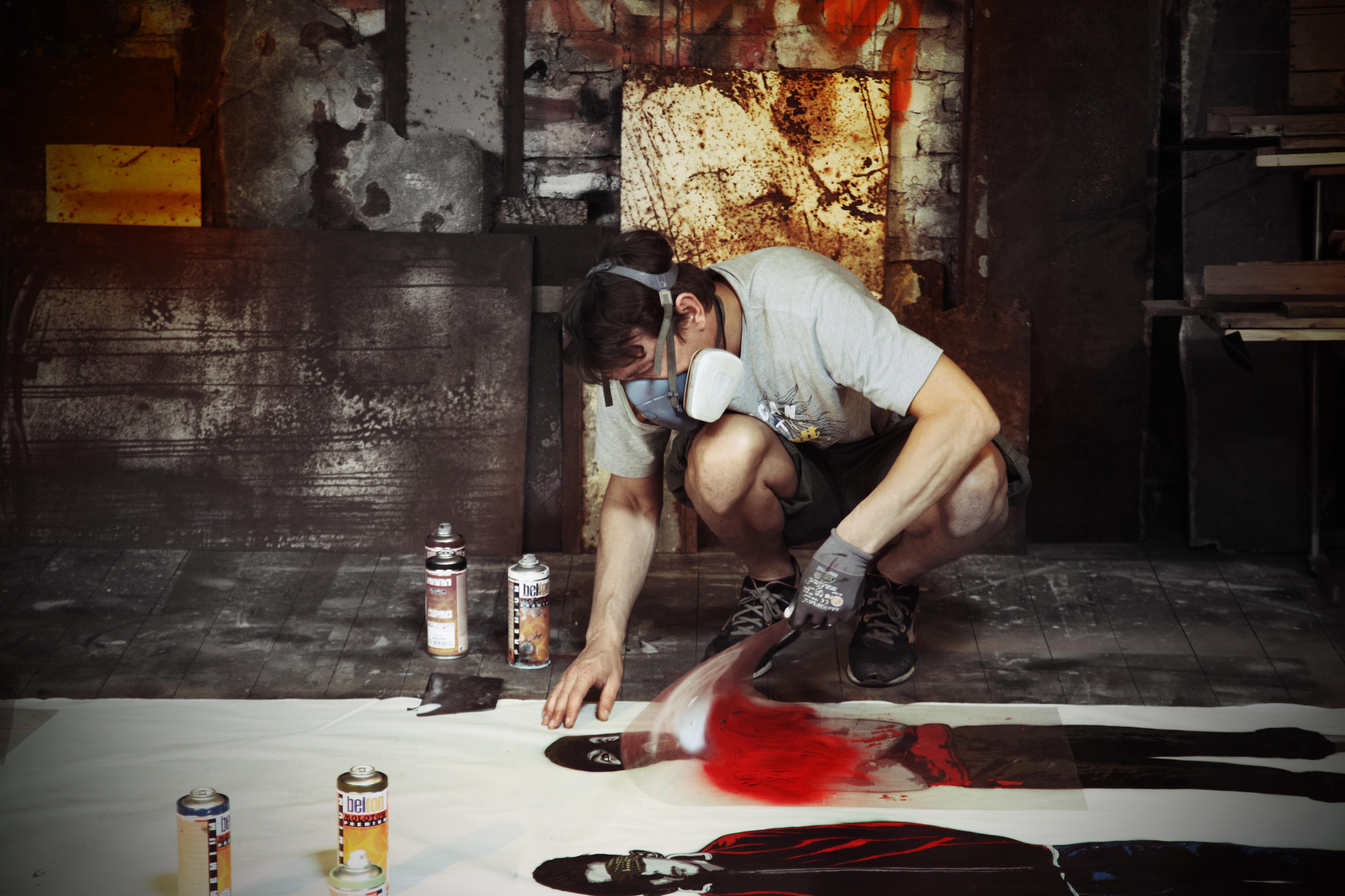 """Street Art in Berlin """"Alias"""""""