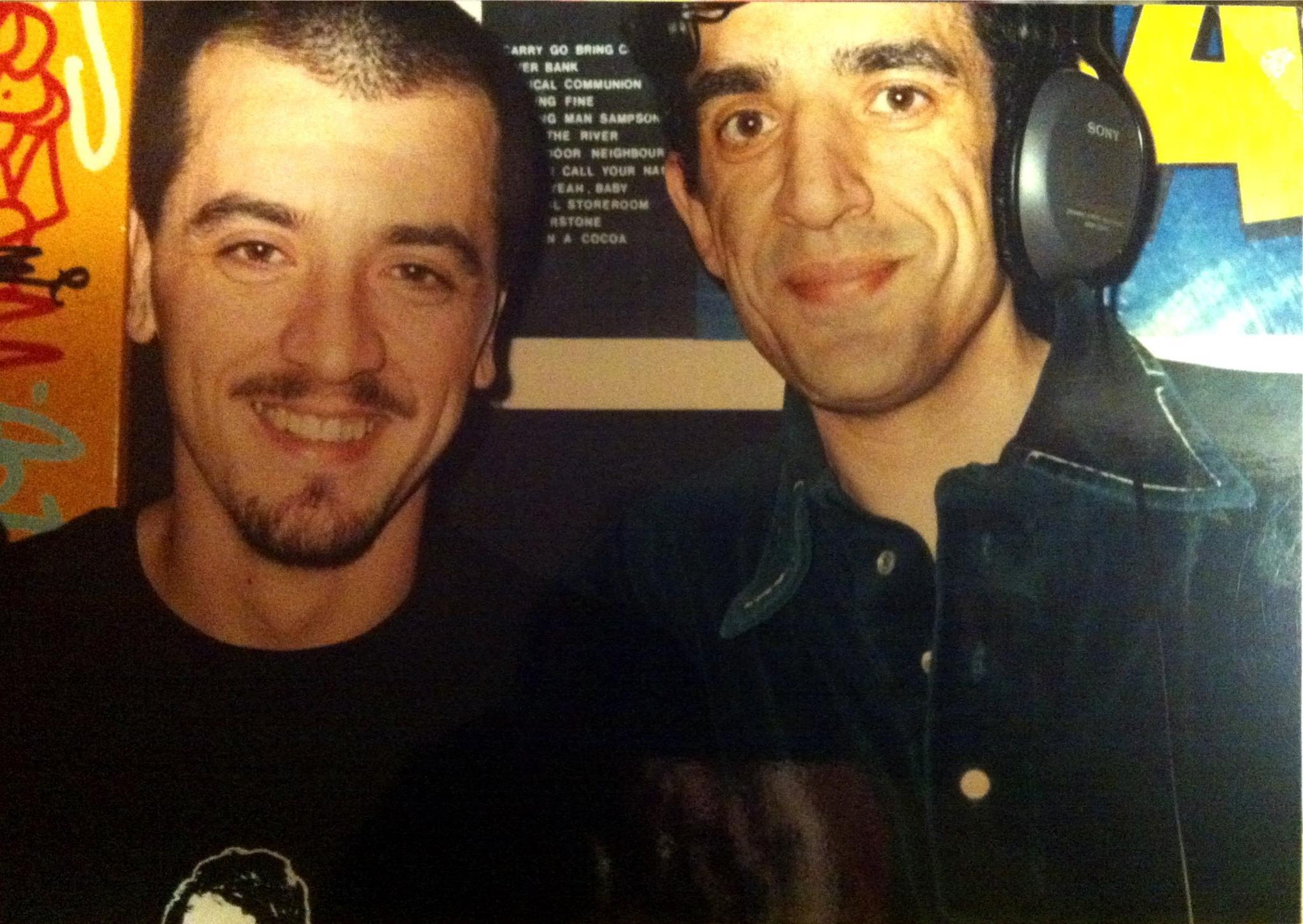 Con Luzy L intorno al 1997