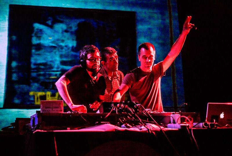 Con Luzy L e Silverboy a Magnetica (2013)