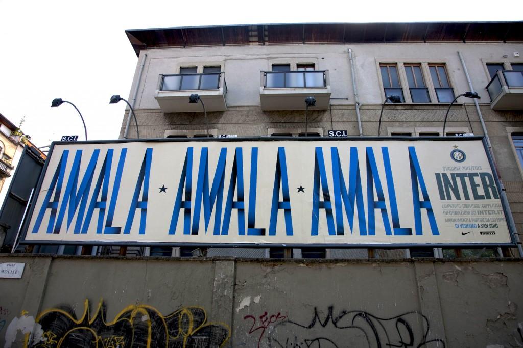 """16.06.2012 - PANORAMICHE POSTER """" AMALA"""" MILANO"""