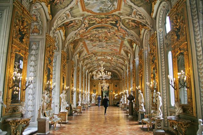 La Galleria Doria Pamphilj.