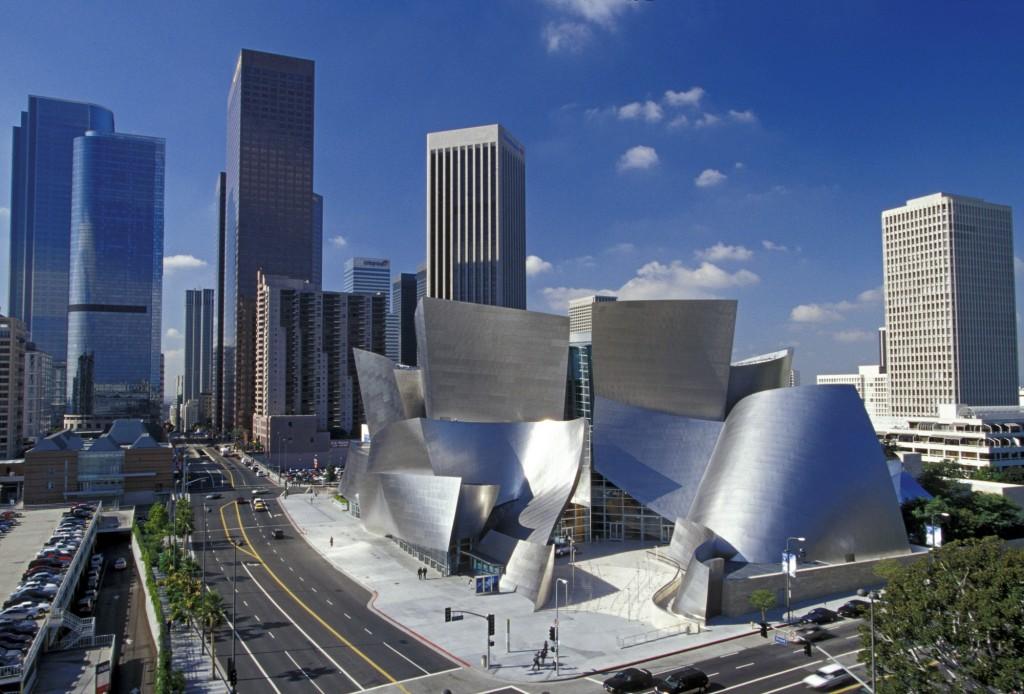 La Walt Disney Hall progettata da Frank Gehry