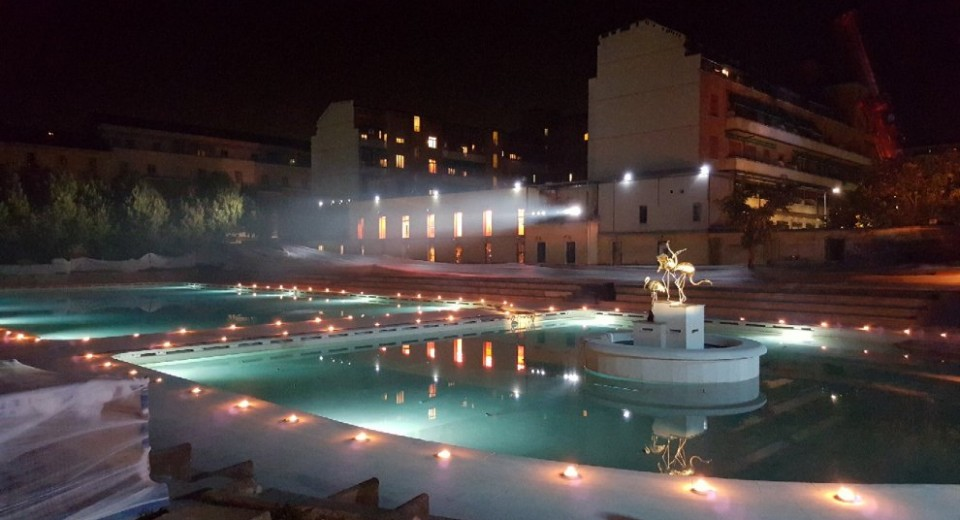 Bagni misteriosi ex piscina caimi milano zero - Piscine di milano ...