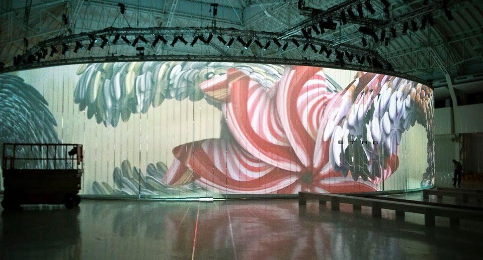 Il set di Etro sotto la direzione artistica de gli Steamcolors