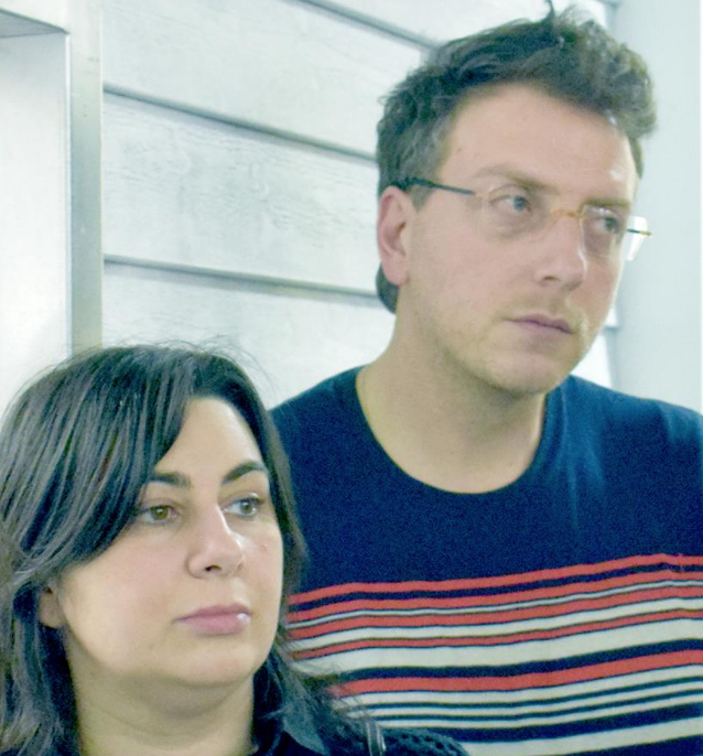 Giacomo Giannella e sua moglie, nonchè socia, Giuliana Geronimo