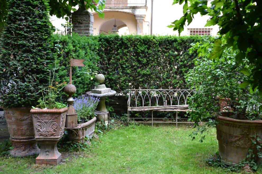 Il giardino di casa Marzadori a Bologna
