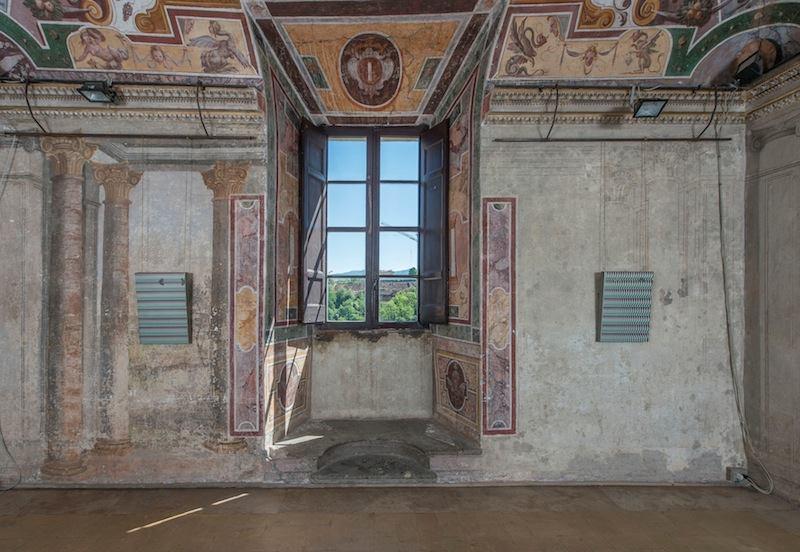 Un dettaglio di Palazzo Rospigliosi