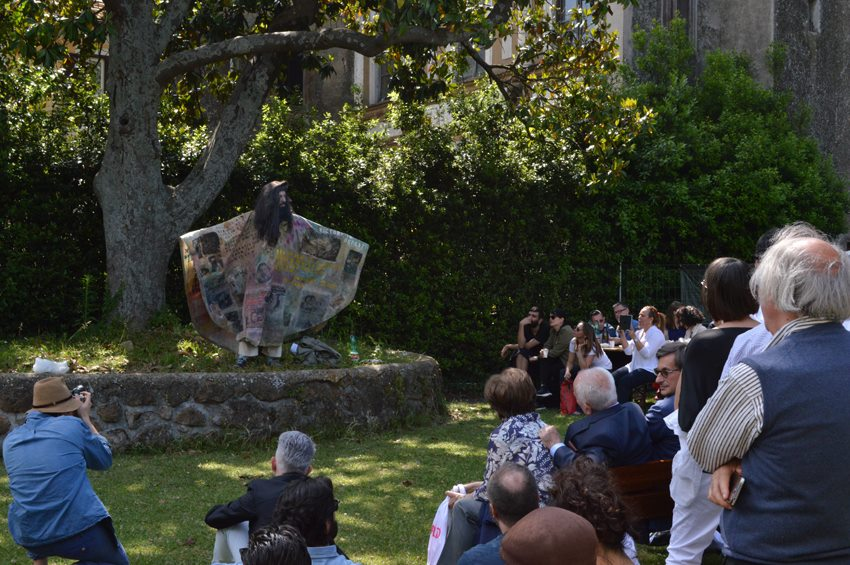 Una delle performance dell'edizione 2015 di GRANPALAZZO.