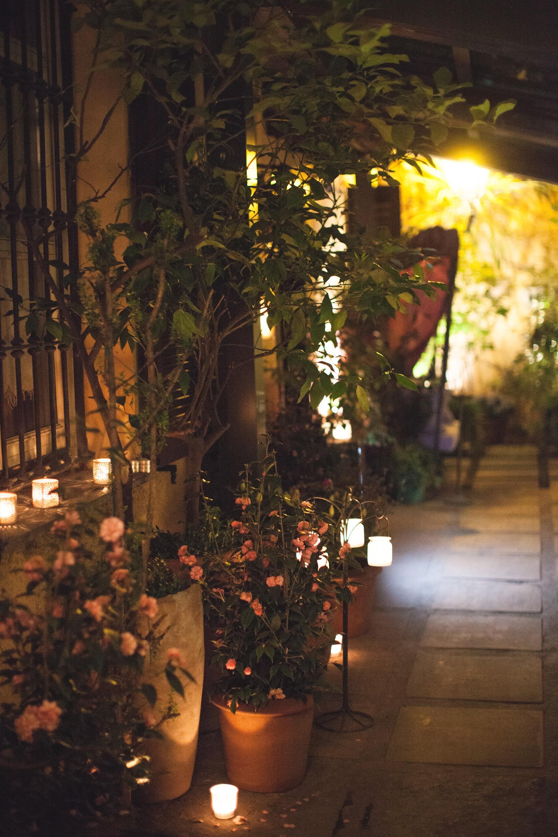 L'ingresso nel giardino segreto del Morgante