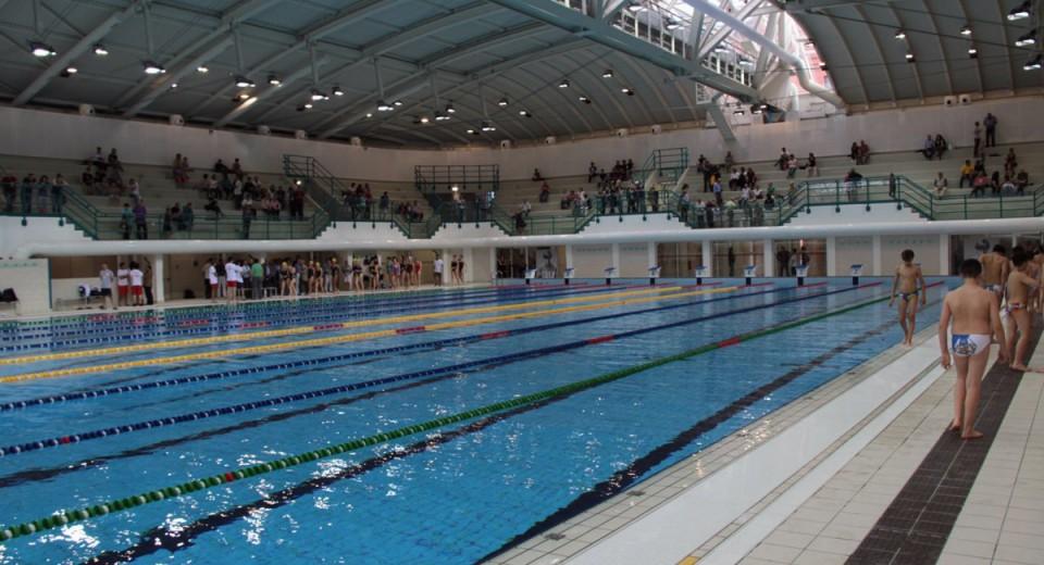 Piscina olimpionica dello stadio bologna zero - Piscina al coperto milano ...