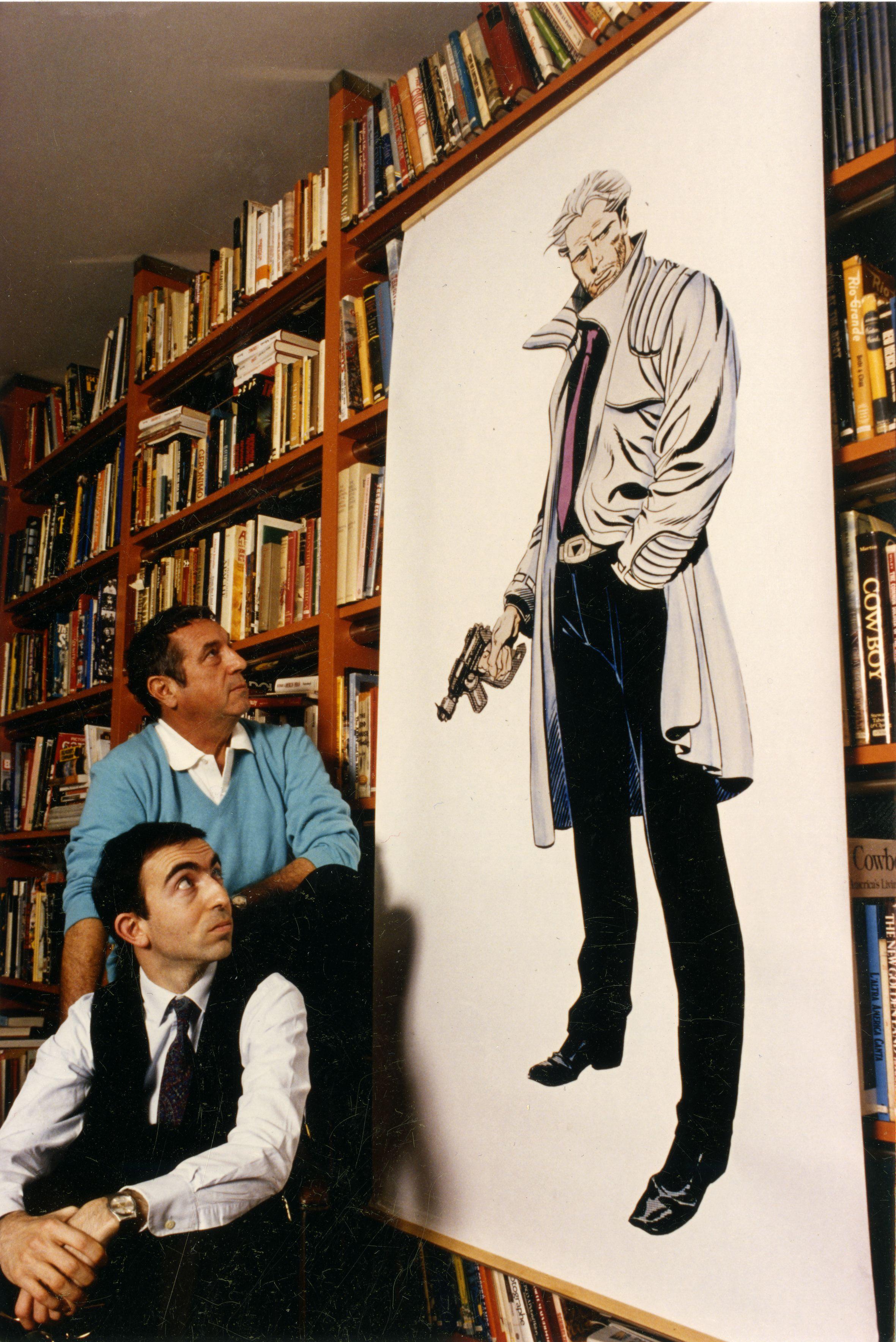 Sergio Bonelli, Antonio Serra e Nathan Never