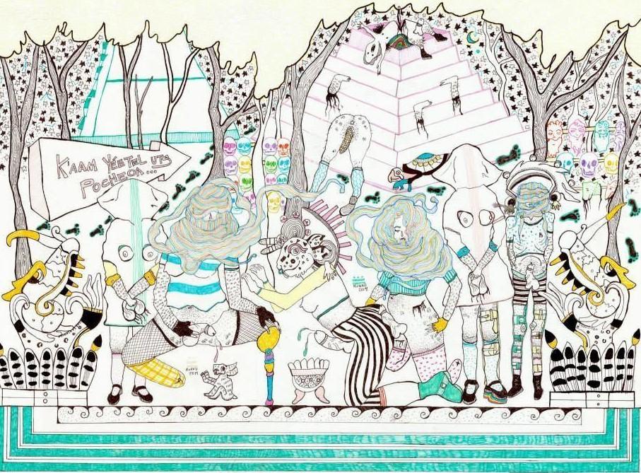 Un disegno di Rurru Mipanochia.