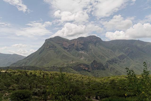 L'entroterra della regione di Oaxaca.