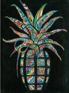 L'ultima rivisitazione del logo Bomba Dischi, disegnato da Gemello (Truceklan)