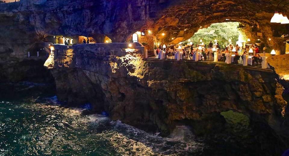 Ristorante Grotta Palazzese Polignano A Mare Zero