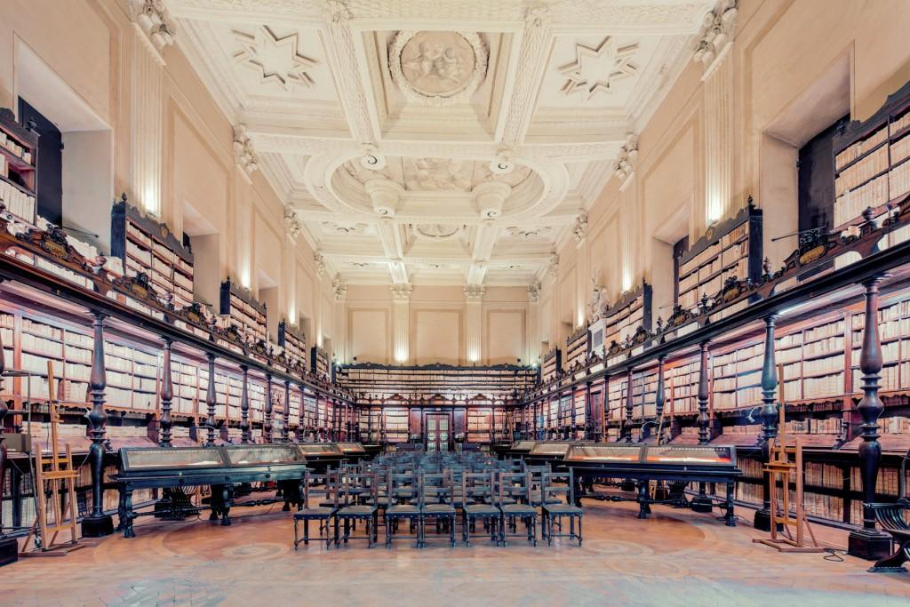La Biblioteca Vallicelliana.
