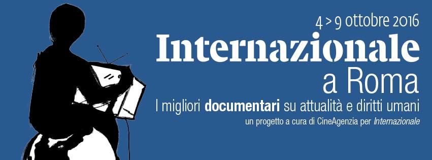 La locandina dell'edizione 2016 di Internazionale a Roma.