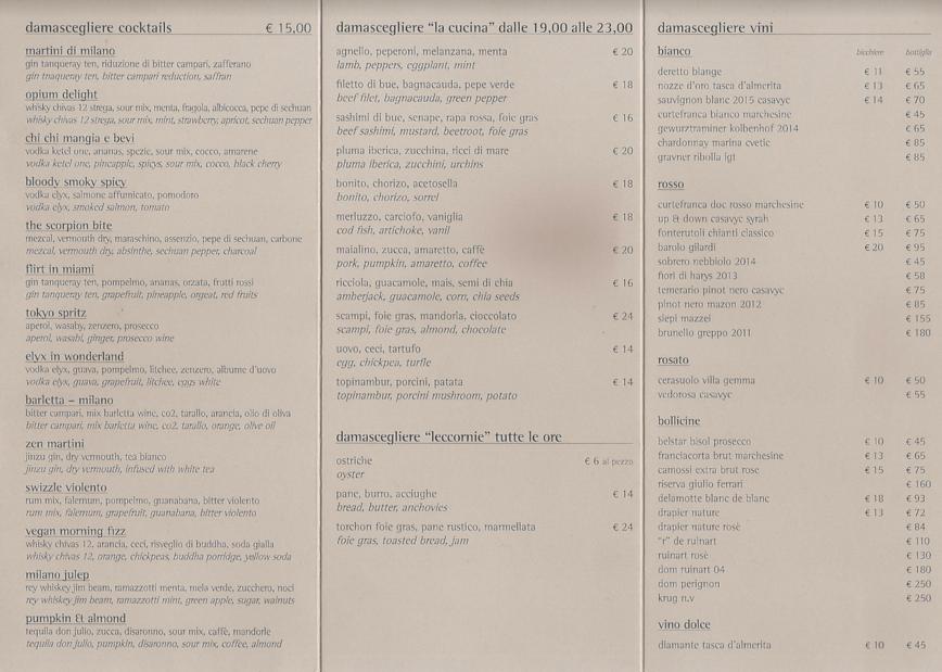 damascegliere-menu-milano