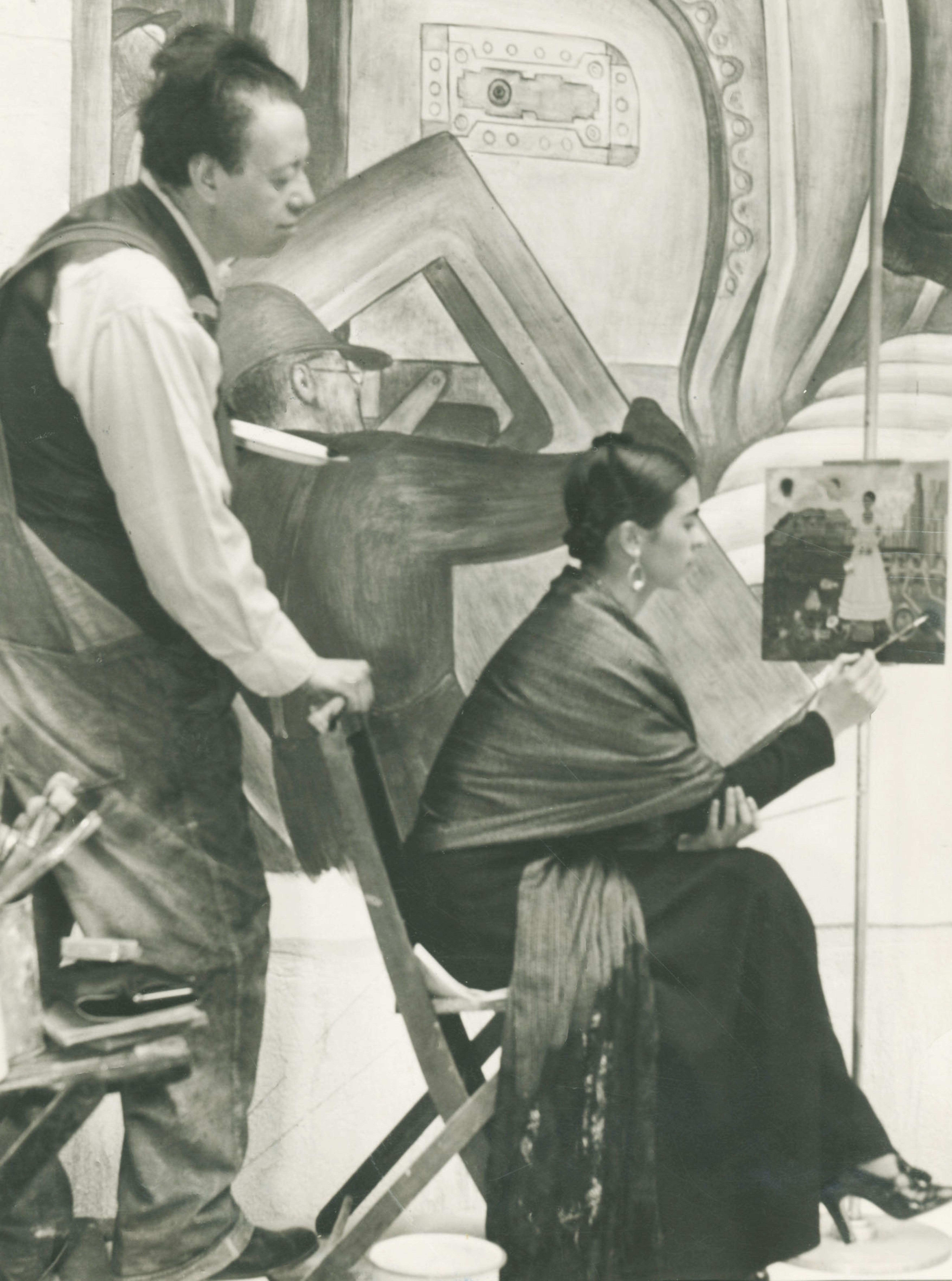 Diego Rivera and Frida Kahlo. Foto di Gerardo Suter