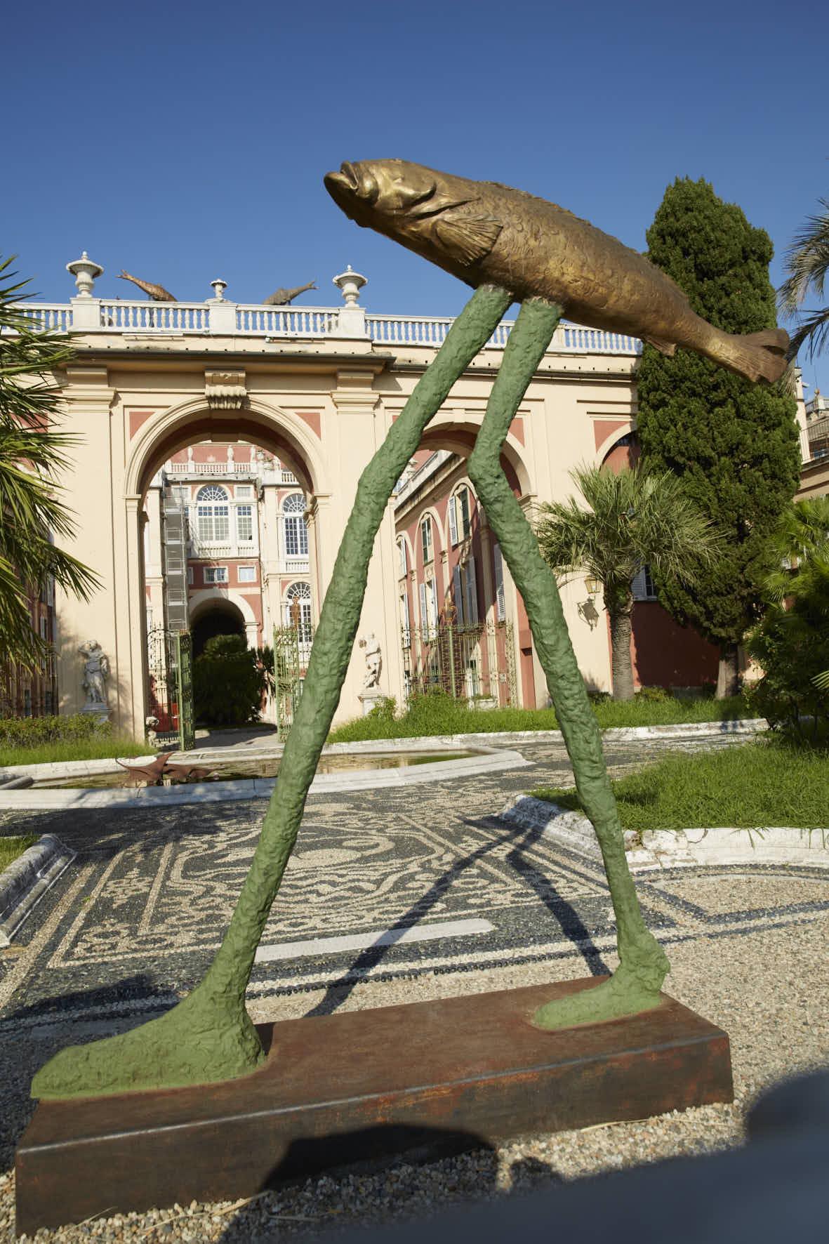 Aldo Mondino, Moderno Post-moderno Contemporaneo, Villa Croce