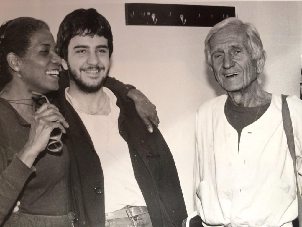 Luciano Linzi con Gil e Evans