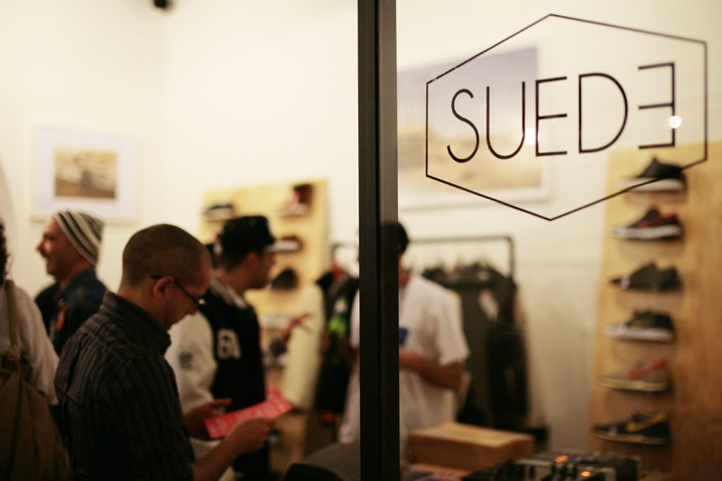 Suede Store 4th Anniversary Party   Zero