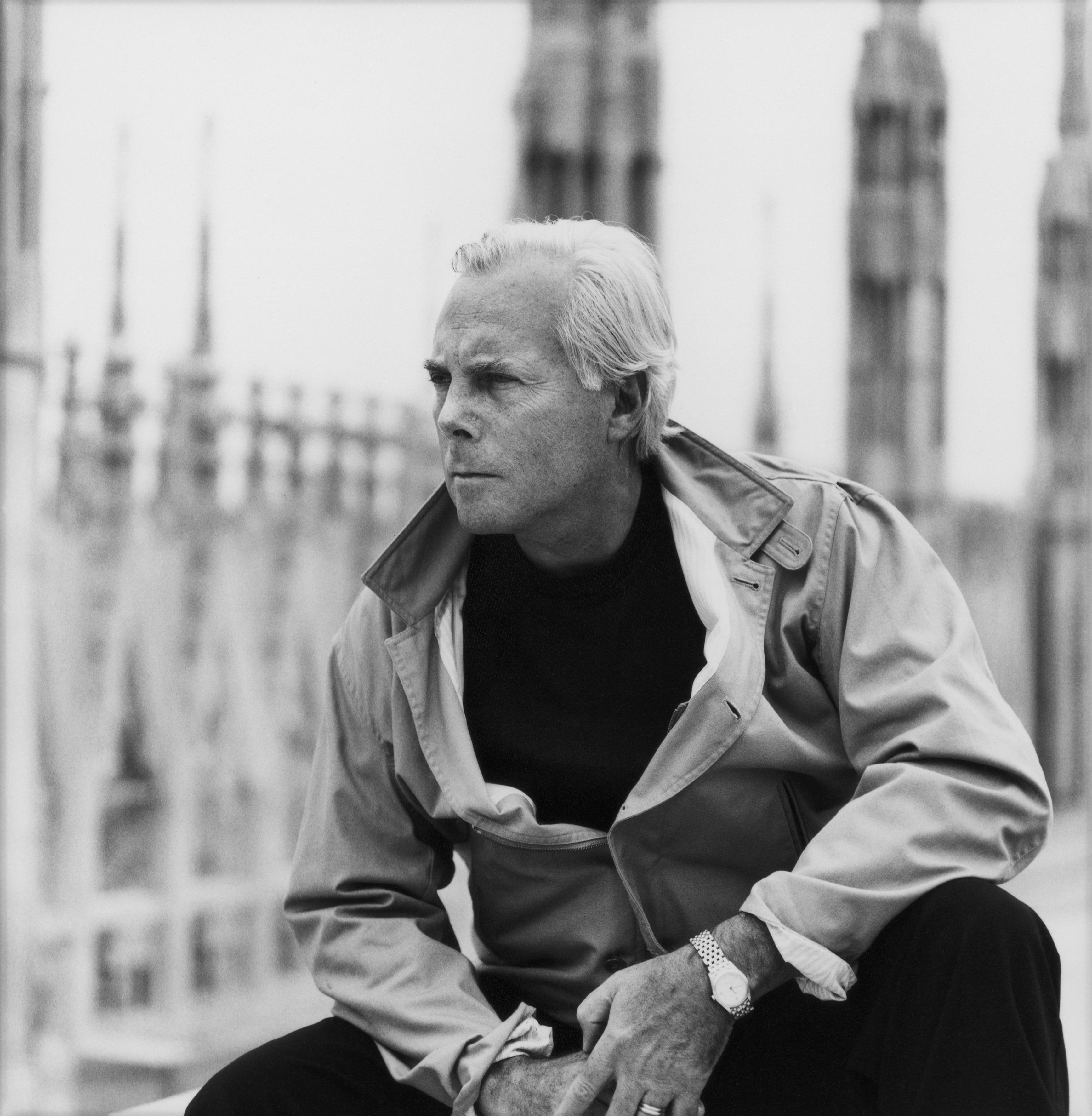 """Un'immagine da """"Made in Milan"""" di Martin Scorsese (courtesy of Giorgio Armani)"""