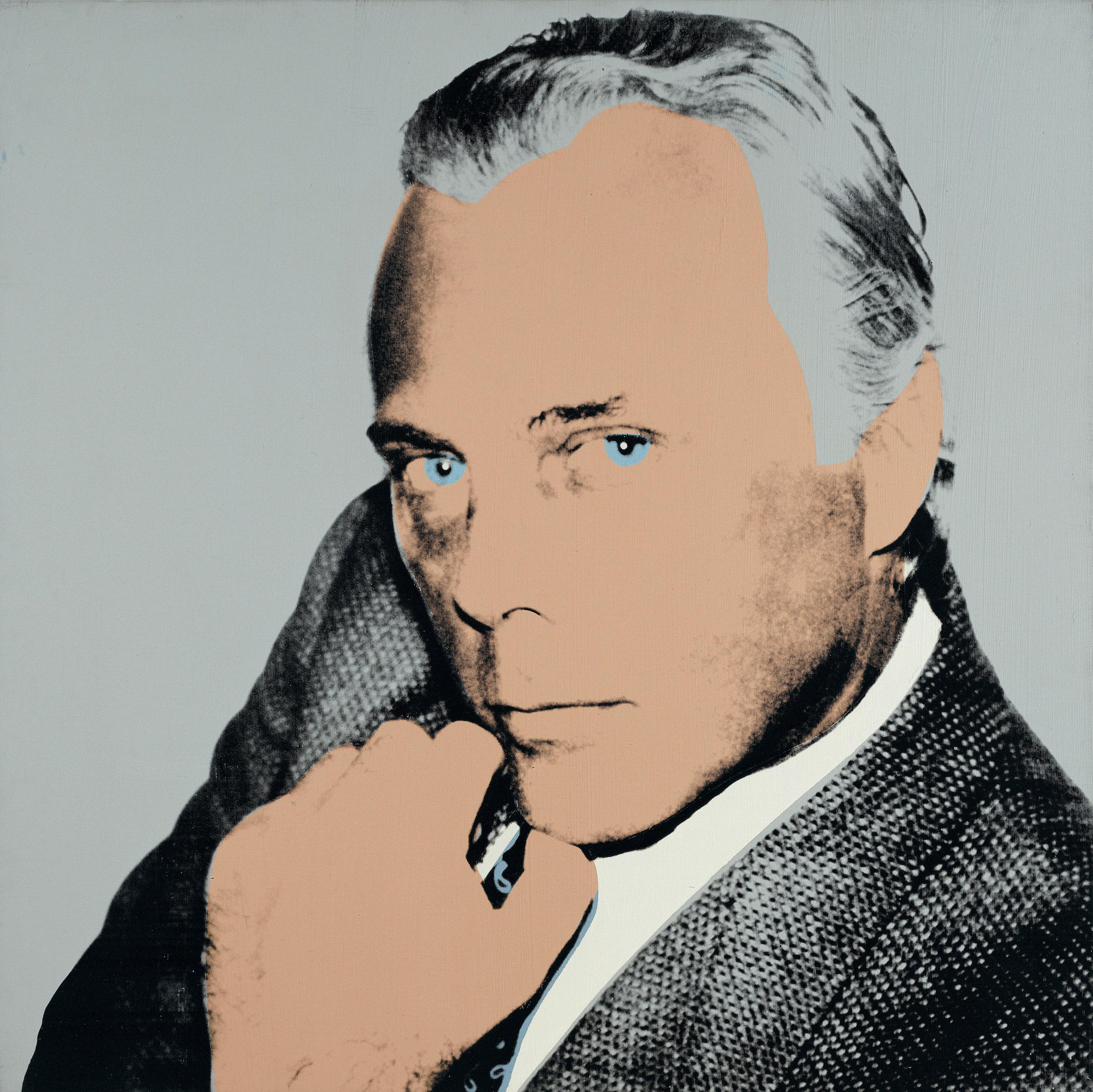 Giorgio Armani secondo Andy Warhol