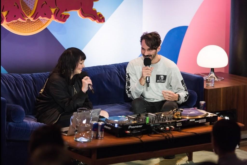 Lorenzo Senni Lecture alla Red Bull Music Academy 2016 di Montreal