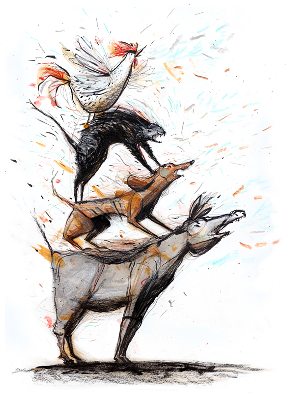 Un disegno di Lorenza Natarella