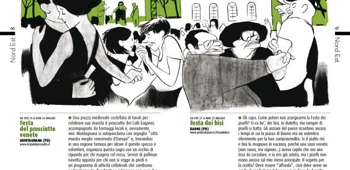 "Una tavola di Manuele Fior per ""Zero Sagre"""
