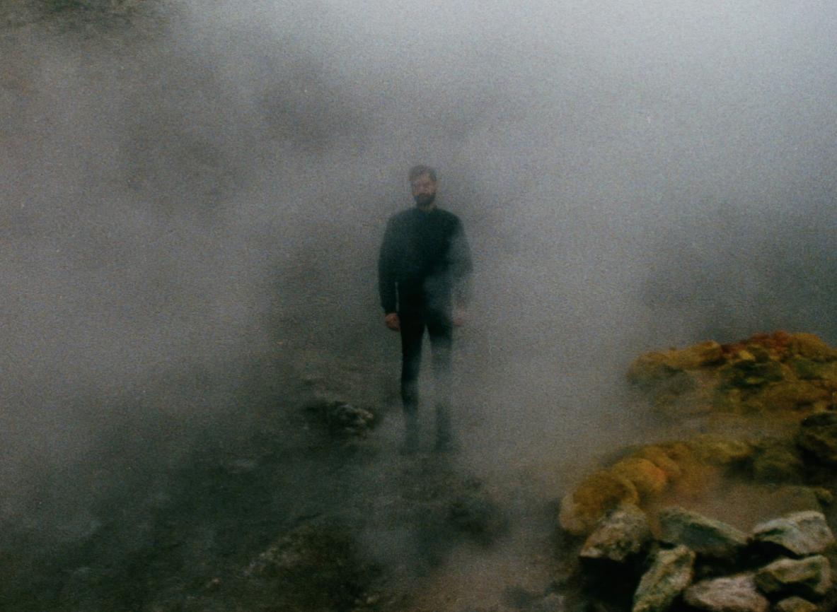 Renato Leotta/Giovanni Giaretta, Screen da video, EFFETTO MAJORANA (la Solfatara, recording of a disappearance), 2014