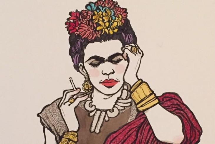 Risultati immagini per operetta amorale a fumetti frida kahlo
