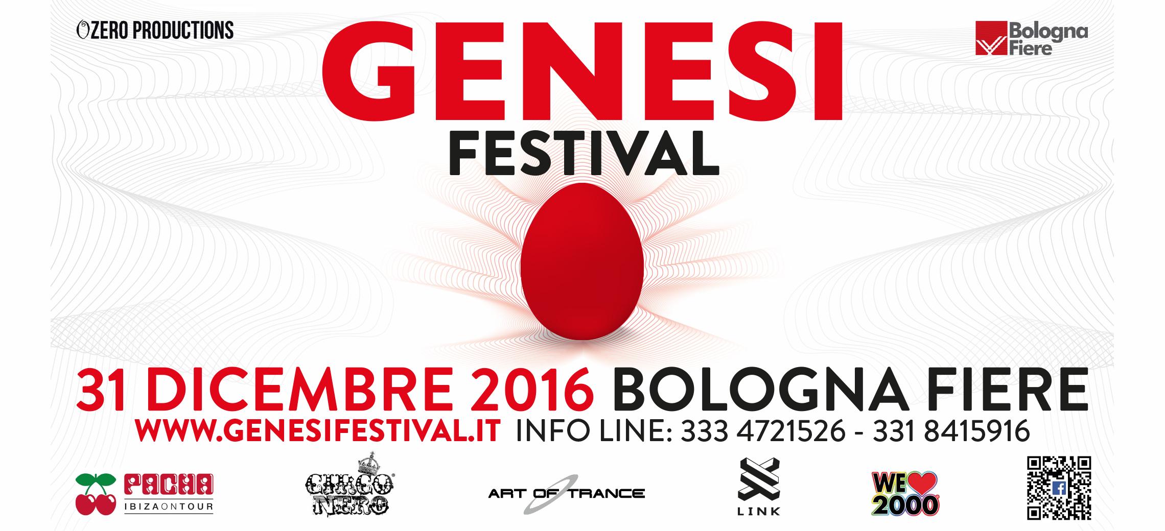 in palio 2 biglietti per genesi festival zero