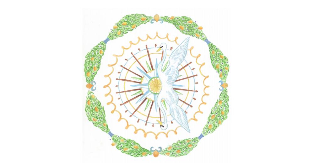 L'illustrazione di Bianca Maria Fiorentino per il capitolo «Vento nelle vele (Mobilità! Giardini per un mondo in movimento, 2007)»