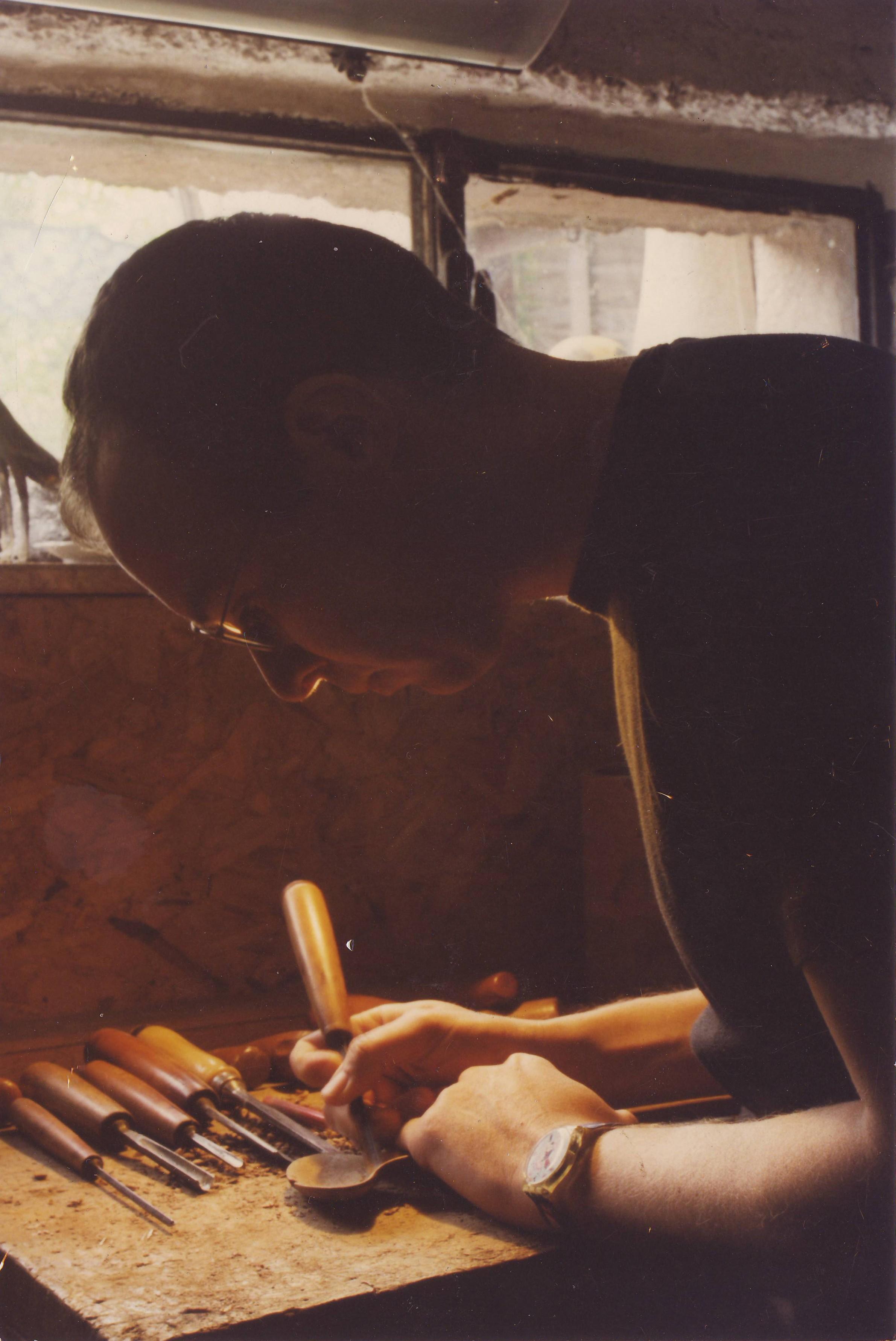 Nel laboratorio di Castelleone 1994