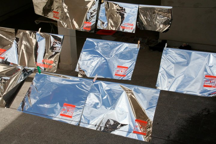 """""""Ciclo Delicati"""" – promozione per l'evento musicale realizzato nel novembre 2007 al Mattatoio di Testaccio  all'interno del Festival Enzimi. Con: Amycanbe, The Niro e Fake P"""