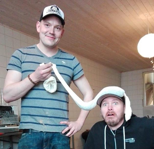 Søren (a sinistra) di Dry & Bitter.