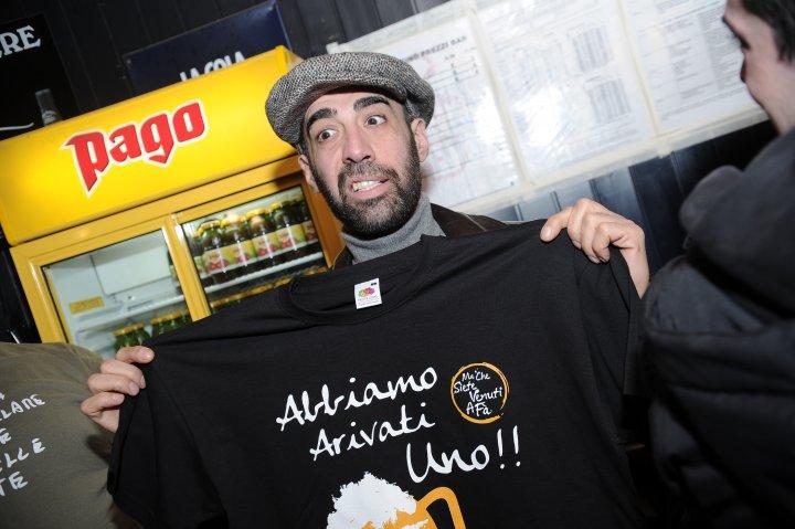 La maglia celebrativa per il raggiungimento della vetta della classifica di Ratebeer.