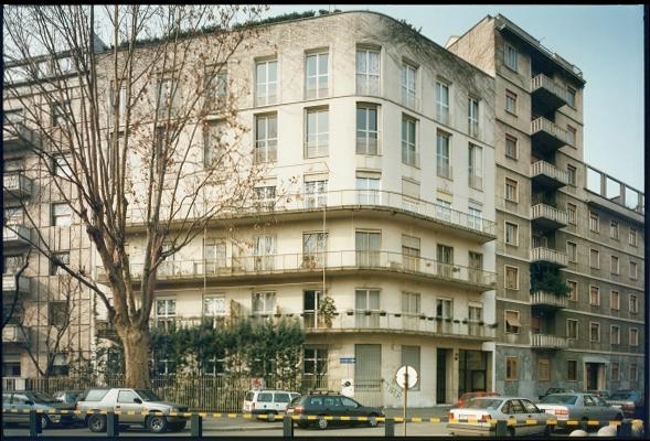 M. Asnago, C. Vender, Edificio d'abitazione S. Rita, 1937 - 1938 via Euripide, Milano