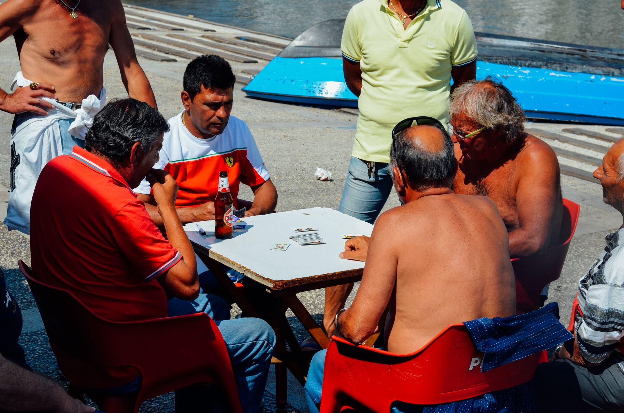 Il mercato del pesce di Bari.