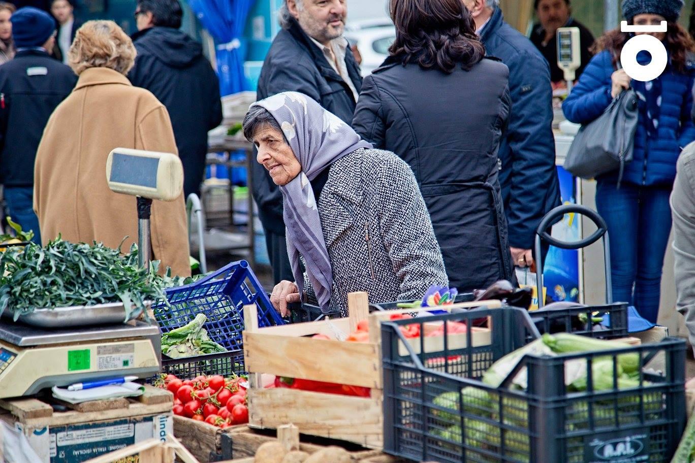 Il mercato di Torrione a Salerno.