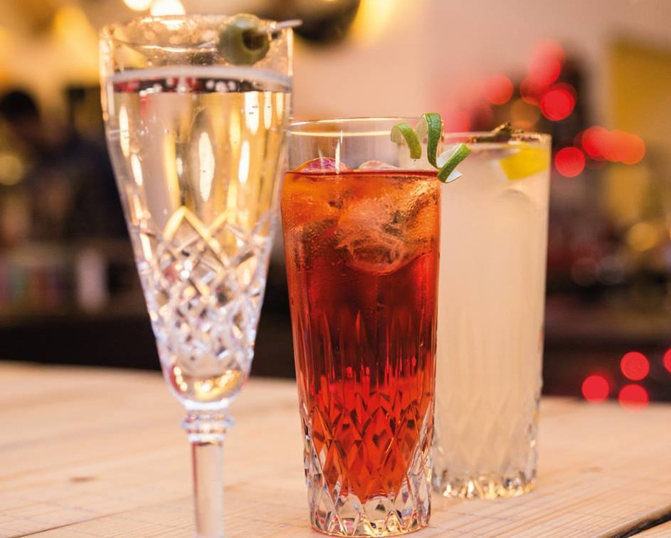 Alcuni drink creati da Lissoni