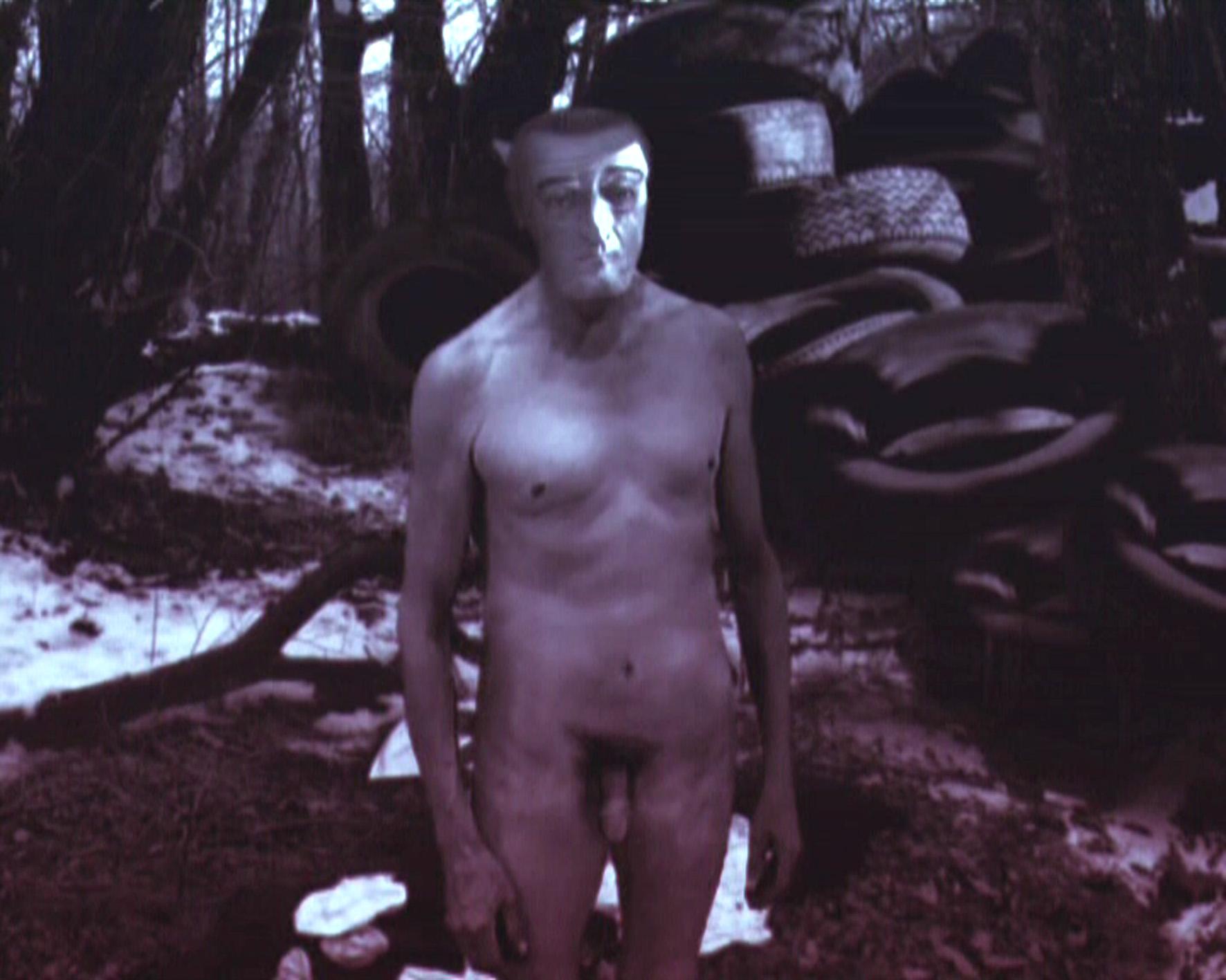 "Diego Perrone Totò nudo, 2005, Ex. 1/5 Animazione digitale  / 4' 30"" CourtesyMassimo De Carlo, Milano/Londra/Hong Kong"