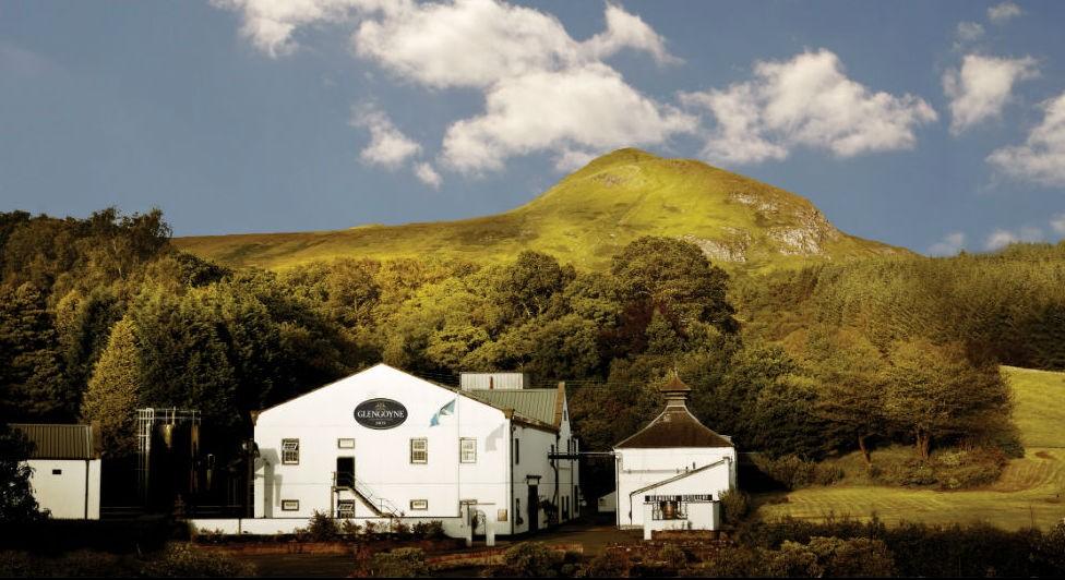 La distilleria Glengoyne.