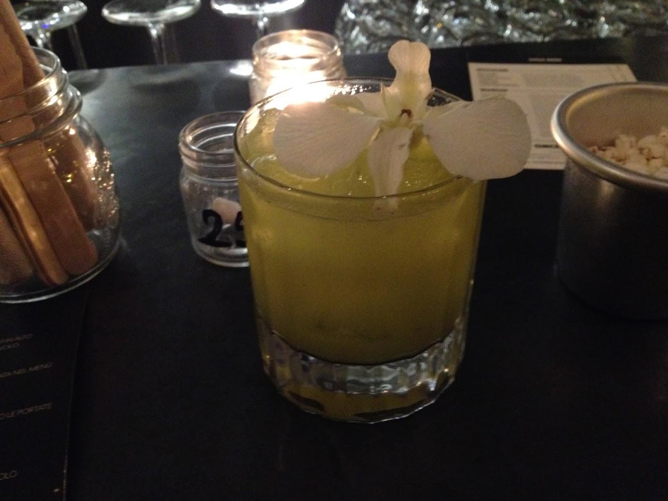 cocktail gesto centrifugato